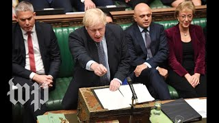 Watch Parliament debate Brexit in historic session
