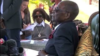 Robert Mugabe will not vote for those who tormented him