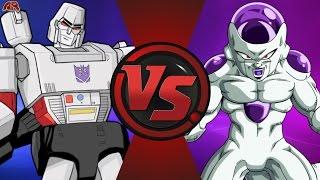 MEGATRON vs FRIEZA! (Transformers vs Dragon Ball Super) Cartoon Fight Club Episode 143
