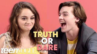 The Kissing Booth Cast Plays Truth or Dare | Teen Vogue
