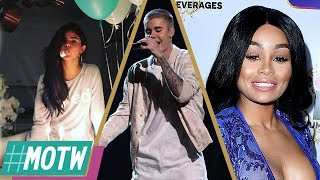 Selena Gomez Celebrates 25th Birthday, Justin Bieber CANCELS Tour, Who's Blac Chyna's New Man?  MOTW