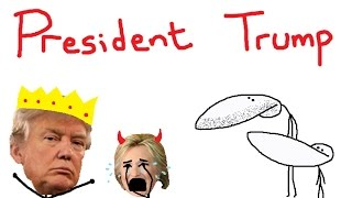 TRUMP WINS -  SJW Hillary Supporters and Assassinating Trump