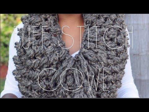 Puff Stitch Cowl