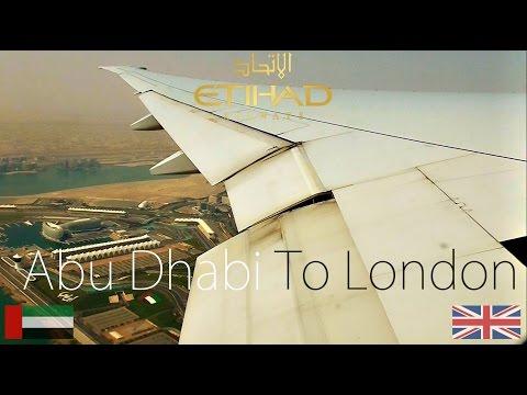 ✈FLIGHT REPORT✈ Etihad Airways Abu Dhabi To London Boeing 777 3FXER A6 ETN EY19