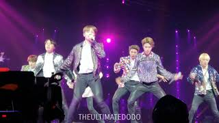 180922 DNA @ BTS 방탄소년단 Love Yourself Tour in Hamilton Fancam 직캠