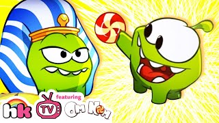 Om Nom Stories: Ancient Egypt | Cartoons | Cut The Rope | HooplaKidz TV