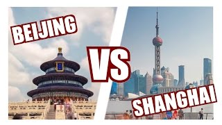 Beijing vs Shanghai - Which city is the best destination?