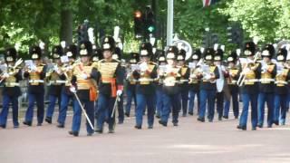 Netherlands Royal Military Band Waterloo 200 parade London