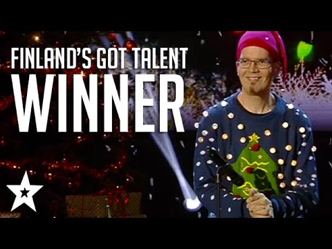 Christmas With a Twist... Finland's Got Talent 2016 Winner! | Antton Puonti takes on John Lennon!