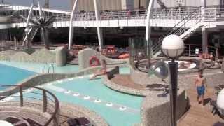 Cruise Ship Review: MSC Splendida, Western Mediterranean - July 2014