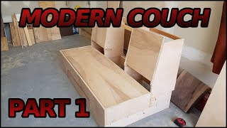 Making a Modern Couch   1