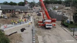 RIDOT removes, replaces East Shore Expressway bridge in 80 hours (Time-lapse)
