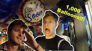 1,000 Balloon Prank!