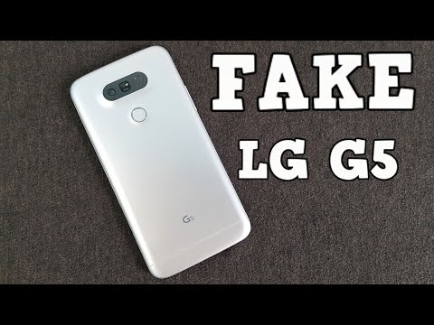 FAKE LG G5 Review - 1:1 Replica - Do not get fooled into buying fake products!