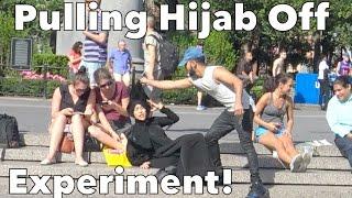 PULLING HIJAB OFF EXPERIMENT!