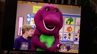 """""""Barney & Friends - Barney's Rhymes with Mother Goose"""" VHS  (1992)"""