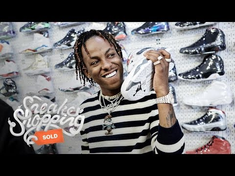 Rich The Kid Goes Sneaker Shopping With Complex