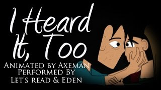 I Heard It Too - A Horror Short Animation by Axeman Cartoons (featuring Let's Read)