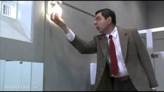 Bean (4-12) Movie CLIP - Bathroom Mishap (1997) HD