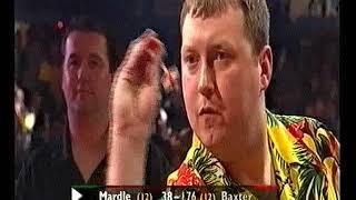 Mardle vs Baxter Darts World Championship 2001 Quarter Final