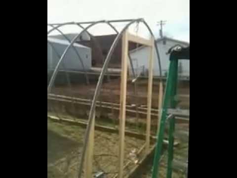How to make a pvc greenhouse cheap!