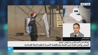إبراهيم صالح: حركة نزوح كبيرة وتقدم متواصل للقوات العراقية في الموصل