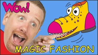 Magic Fashion for Kids + MORE | Stories for Children | Steve and Maggie from Wow English TV
