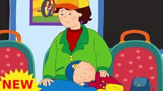 LIVE | Funny Animated cartoons | NEW | Caillou on the train | WATCH ONLINE | Cartoon for Children