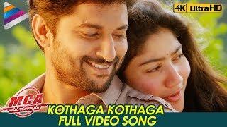 Kothaga Kothaga Full Video Song 4K   MCA Video Songs   Nani   Sai Pallavi   DSP   Telugu FilmNagar