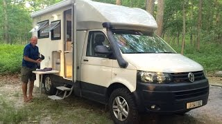 SUPER COOL AMPHIBIOUS RV  Woelcke Autark T5 Crosser Off Road 4x4 Campervan Motor Home