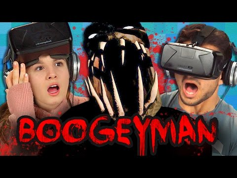 BOOGEYMAN OCULUS HORROR GAME Teens React Gaming