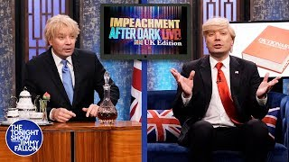Impeachment After Dark: Trump and Boris Johnson Got Parent-Trapped