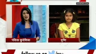 Watch: How 11-year-old Drishti interviewed Maharashtra CM Fadnavis