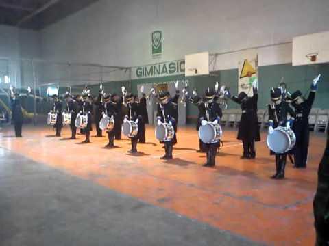 Banda de Guerra Linces Campeones Estatales Chihuahua 2011 Orden cerrado