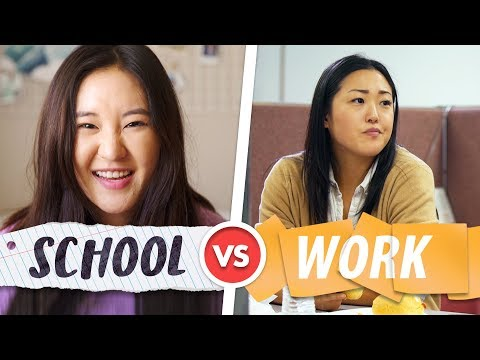 Back to SCHOOL vs Back to WORK