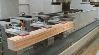 Sac HEXAGON window door CNC production line