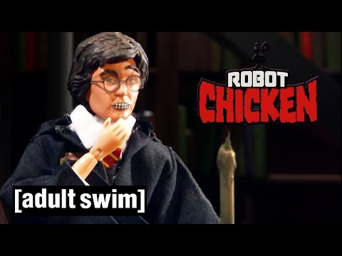 Classic Hogwarts Moments Robot Chicken Adult Swim