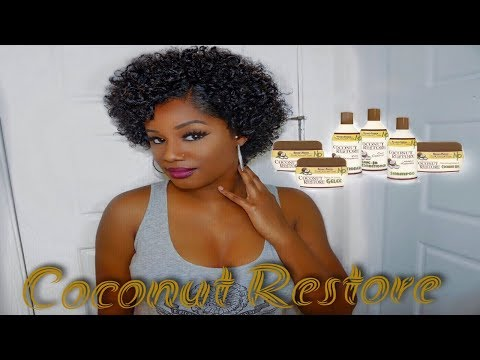 Xxx Mp4 The Braid Out That Went Wrong But So Right Ft Coconut Restore 3gp Sex
