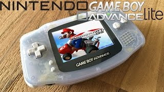 Gameboy Advance Lite Experiment