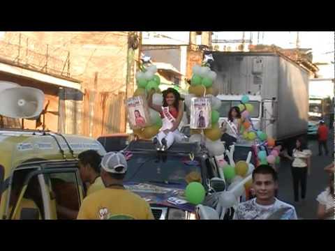 Elección de la Reina de las Fiestas Patronales de Usulután 2010 Parte 1