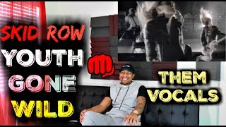 Skid Row - Youth Gone Wild Official Music Video Reaction