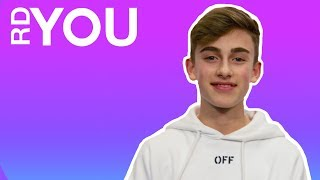 Johnny Orlando RDYou On The Spot | Radio Disney