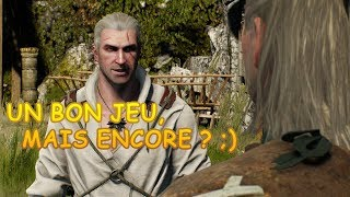 Je viens de commencer The Witcher 3 ... Premier avis en Français