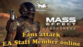Mass Effect: Andromeda fans attack EA staff member online