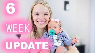 6 WEEK UPDATE | Choking, Breastfeeding, & Gas Problems