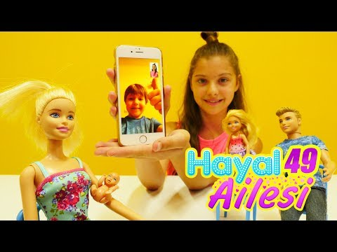 #Barbie DOĞUM yapıyor🤰🏼! #HayalAilesi hastaneye gidiyor! Yeni doğan bebekle oyunlar👼🏼