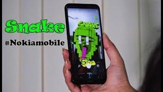Nokia classic Snake in Facebook Camera