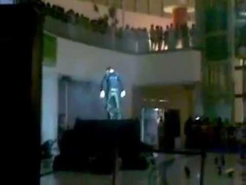 عروض الليزر بالرياض 2011 في رمال سنتر
