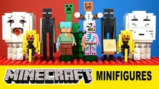 Minecraft Minifigure-Scale Mobs Unofficial LEGO Knockoff Set 2 - LeLe