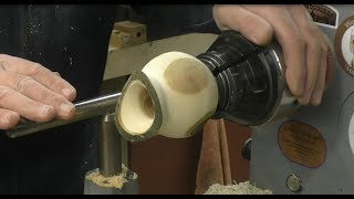 Woodturning - How to turn a Birds Mouth Bowl